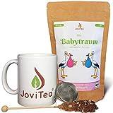 JoviTea® Babytraum BIO Tee Set mit Tasse – Traditionelle Rezeptur - spezielle Kräutermischung – aus kontrolliert biologischem Anbau. 100% natürlich