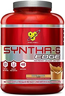 BSN Syntha 6 Edge Proteína en Polvo, Caramelo - 1780 g