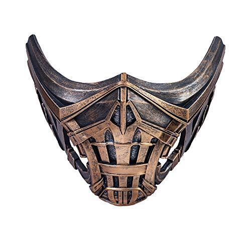 Dealtrade Halloween Maske Erwachsene Herren Cosplay Kostüm Harz Maske Party Merchandise Zubehör