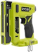 Ryobi 18-Volt ONE+ Unidade de compressão sem fio 0,95 cm Grampeador de coroa (apenas ferramenta) P317