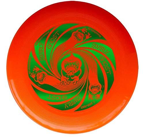Discraft Ultrastar Orange Ultimate Frisbee Ultra Star - Swirly Ghost Grün 175g