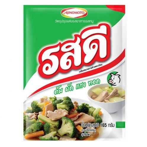 Rosdee Pork Flavour Allinone Original Thai Cook Seasoning Powder 165g/58oz
