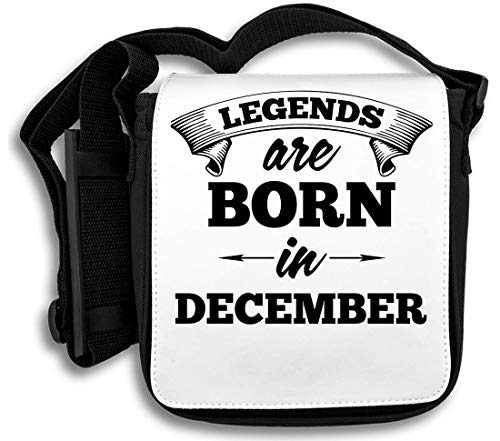 Legends Are Born In December schoudertas