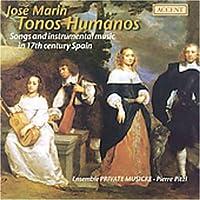 Tonos Humanos: Songs & Instr Music 17th Ctry Spain