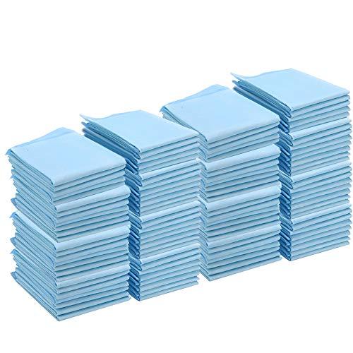 110 almohadillas desechables de 23.62 x 23.62 pulgadas, pañales para adultos de incontinencia a prueba de fugas de gran absorción, gran protección como almohadillas de cama y almohadillas para orinar