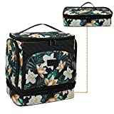 Toiletry Travel Bag for Women, Large Hanging Toiletry Bag Makeup Organizer with Hanging Hook, 2 in 1 Water-resistant Bathroom Shower Bag Cosmetic Storage Accessories, Full Sized Container