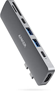 Anker USB C Hub for MacBook, PowerExpand Direct 7-in-2 USB C Adapter Compatible with Thunderbolt 3 USB C Port, 100W Power ...