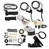 Lairun Kit de conversión de Bicicleta eléctrica, Kit de Motor de Cubo de Bicicleta eléctrica con Controlador, Kit de Motor de conversión de Bicicleta eléctrica para Bicicleta eléctrica de 22-28 ''