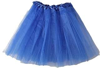TOPUNDER Ballet Tutu Layered Organza Lace Mini Skirt for Women