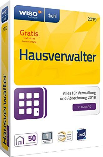 WISO Hausverwalter 2019 Standard - Die Rundum-sorglos-Lösung für kleine Hausverwaltungen und Eigentümer [CD-ROM]