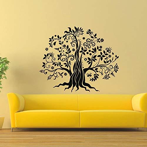 Decalcomania della parete del vinile Trucco viso Donna Salone di bellezza Murale Art Wall Sticker Camera da letto Home Decoration ~ 1 68 * 56cm