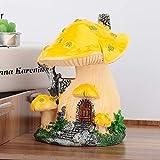 Redxiao Decoración de Patio de Alto Grado de imitación, decoración de Escultura, Amarillo para jardín de producción de Paisaje