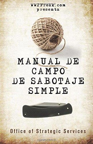 Manual de campo de sabotaje simple