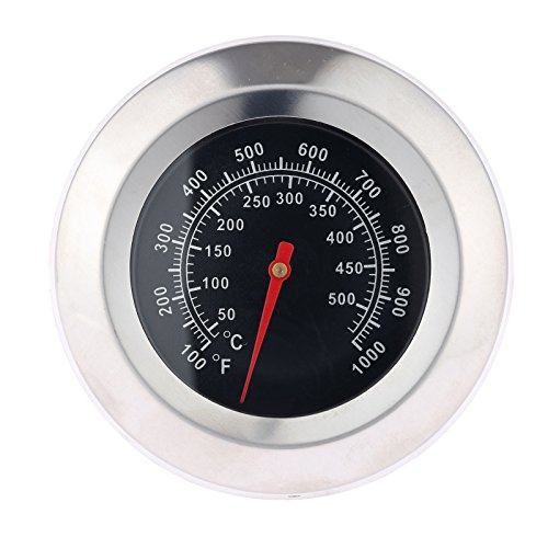 Mtsooning 1Pc 3' BBQ Thermometer Gauge Face 1000F Temperature Barbecue...