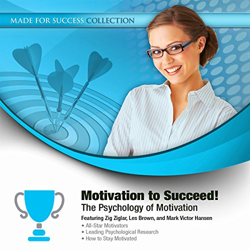 Motivation to Succeed! audiobook cover art