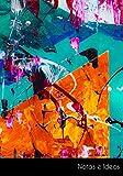 Notas e Ideas: Cuaderno / diario abstracto pintura anteceden