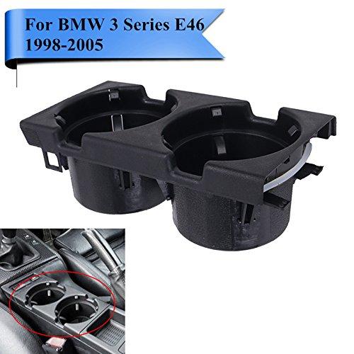 /2006 SP-Auto Gris Pl/ástico Interior Centro Consola Soporte para Bebidas Taza Soporte de Monedas para BMW Serie 3/E46/1998/