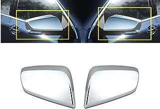 eLoveQ Chrome TOP Half Mirror Covers FITS 2014-2018 Chevy Impala