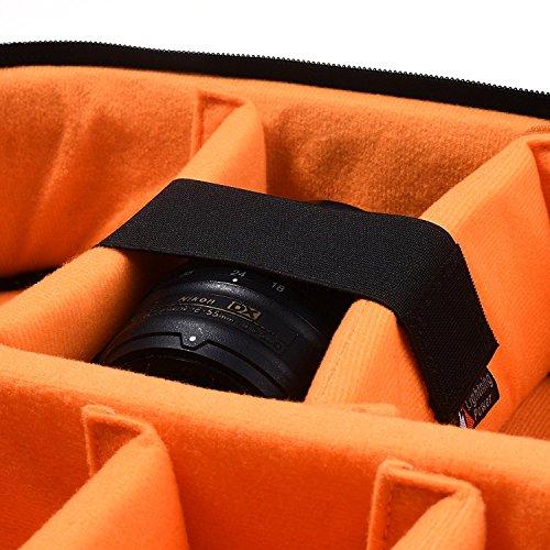 small dslr camera bag insert - 3