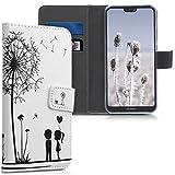 kwmobile Funda Compatible con Huawei P20 Lite - Carcasa de Cuero sintético niños y Diente león -...