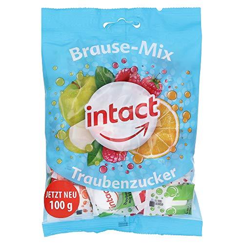 INTACT Traubenz. Brause-Mix Beutel 100 g Bonbons