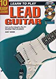 Aprender a jugar guitarra eléctrica plomo música tutor libro CD & DVD 10 lecciones fáciles G2
