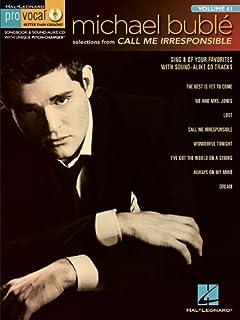 Michael Bublé - Call Me Irresponsible: Pro Vocal Men's Edition Volume 61