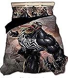 Proxiceen Marvel Avengers - Funda nórdica con impresión digital 3D de superhéroes, para cama individual, doble, king (A6, 200 x 200 cm + 50 x 75 cm x 2)