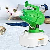 S SMAUTOP Pulverizador Desinfectante Eléctrico 5L 1200W Portátil 3 Boquillas Nebulizador de Desinfección Asesino de Germen Máquina de Nebulización Desinfectante para Fábrica, Escuela, Hospital, Jardín