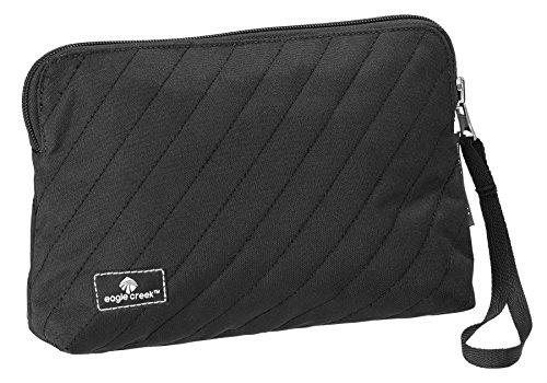 Eagle Creek Kosmetikbeutel Pack-It Original Quilted Reversible Wristlet Wendetasche für Hygieneartikel, black
