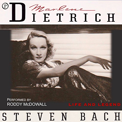 Marlene Dietrich: Life and Legend audiobook cover art