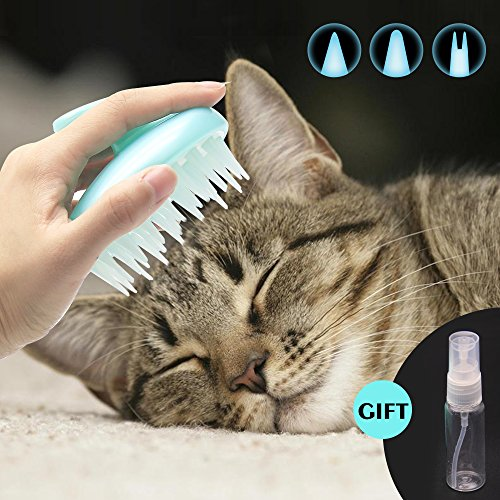 brosse chat silicone