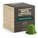 Note d'Espresso Italiano - Cápsulas Sistema Nespresso, compatibles con cafeteras Nespresso, de Chocolate con Menta, 40 x 7 g, Total 280 g