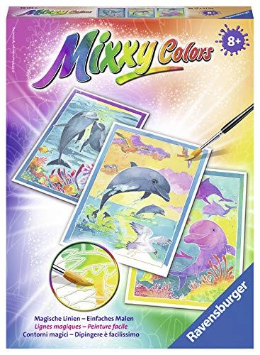 Ravensburger Mixxy Colors Malen 29123 - Delfine