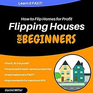 Flipping Houses for Beginners audiobook cover art