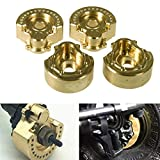 XUNJIAJIE 4PCS RC Wheel Heavy Weights Counterweight for Traxxas TRX4 1/10 RC Crawler Buggy Model...