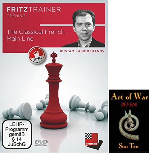The Classical French - Main Line Chess Opening Software bundled with Art of War on DVD - 2 item bundle