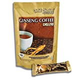 Ginseng Coffee Deluxe - Café soluble al ginseng - 10 stick de 20g