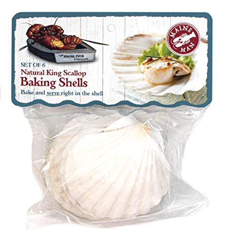 HIC Natural Baking Shells, 3.25-Inches by HIC Harold Import Co.