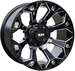 XTREME MUDDER XM-318 20X10-12 6X135+6X139.7 C.B 106 GLOSS BLACK MILLED