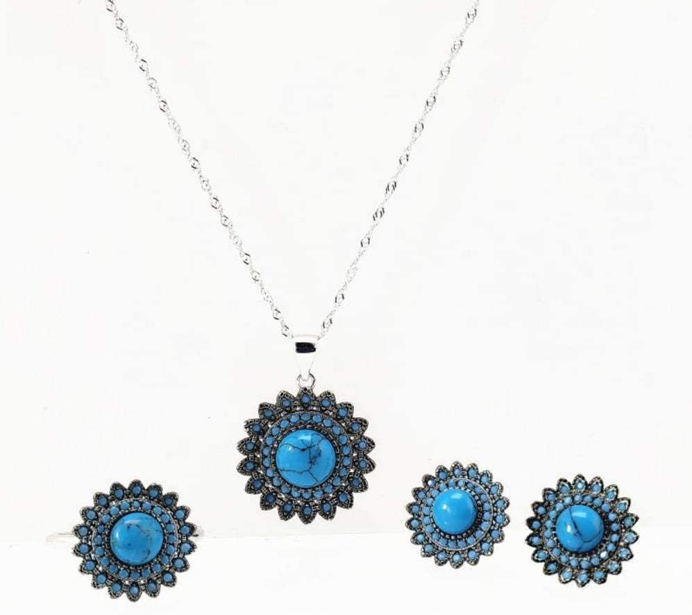QiongXin Earring Pendant San Inexpensive Jose Mall Necklace Jewelry Women for Sets Fashion