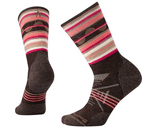 SmartWool Women's PhD Outdoor Medium Pattern Crew Socks (Lochness) Small