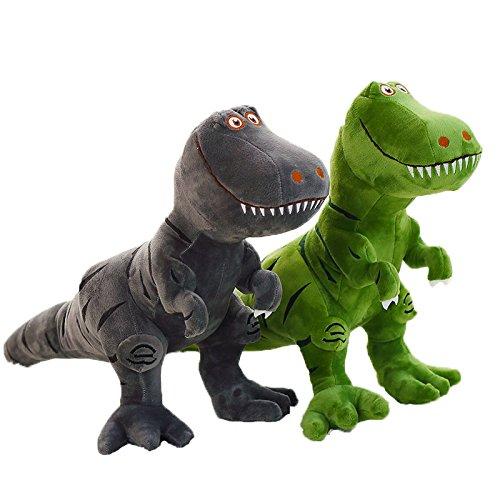 xunlei Dinosaurier Spielzeug Kunststoff 2 Stück / Set Spielzeug Cartoon Tyrannosaurus Rex Dinosaurier Arlo Spot Kuscheltier Plüschpuppe Figur Partyzubehör Geburtstagsgeschenk Kinder