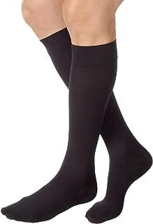 JOBST Relief Knee High 20-30 mmHg Compression Socks, Closed Toe, Black, Small