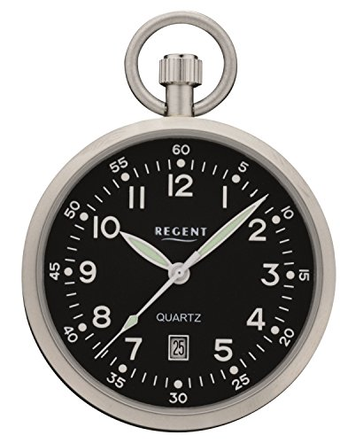 Regent 32P324 - Reloj de Bolsillo, con indicador de Fecha