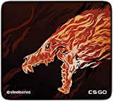 SteelSeries QcK+ Limited, Alfombrilla de ratón de Juego, 450 x 400 x 3mm, CS:GO Howl