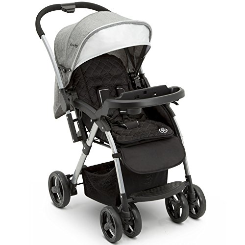 cheap Jeep Unlimited stroller with gray tweed with reversible handle