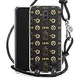 DeinDesign Coque Collier Compatible avec Huawei Mate 20 Lite Coque avec lanière Coque avec Cordon...