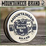Mustache Wax by Mountaineer Brand (2oz)   All-Natural Beeswax and Plant-Based Oils for Moustache   No Petroleum… 4