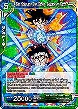 Dragon Ball Super TCG Singles - Son Goku and Son Gohan, Saiyans of Earth - DB1-091 - R - Draft Box 4 - Dragon Brawl